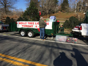 Holly Tree Lighting